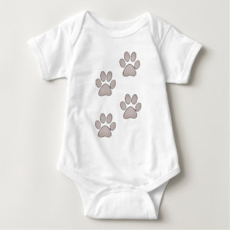 Paws Baby Bodysuit