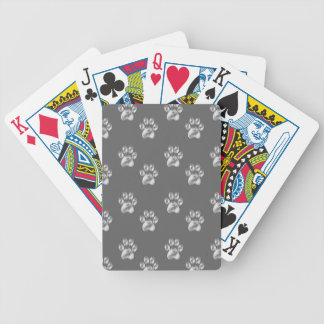 paws bicycle playing cards