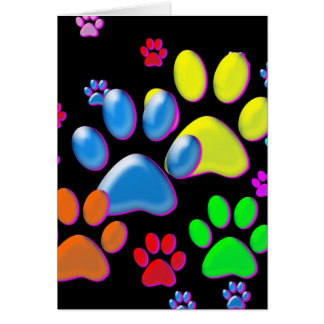 Paws Greeting Card