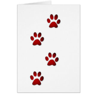 Paws Greeting Cards