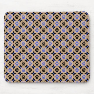Paws-for-Business Mousepad (Cobalt)