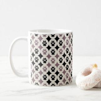 Paws-for-Coffee Mug  (Mocha)