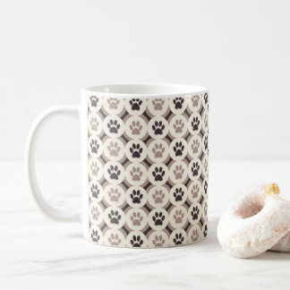 Paws-for-Coffee Mug (Mocha)