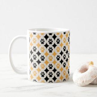 Paws-for-Coffee Mug (Mustard)