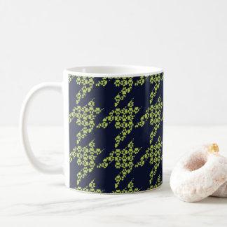 Paws-for-Coffee Mug (Olive/Navy)