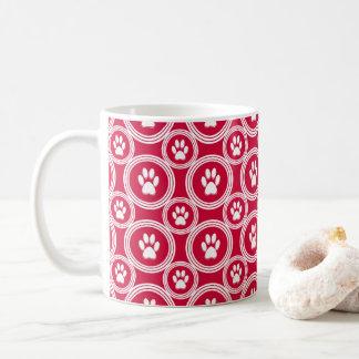 Paws-for-Coffee Mug (Red)