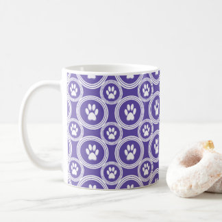 Paws-for-Coffee Mug (Violet)