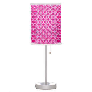 Paws-for-Décor Lamp (Magenta)