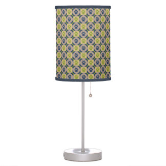 Paws-for-Décor Lamp (Olive/Navy)