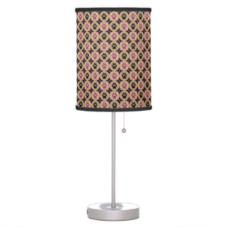 Paws-for-Décor Lamp (Plum)