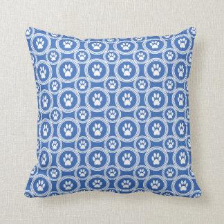 Paws-for-Décor Pillow (Blue)