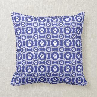 Paws-for-Décor Pillow (Indigo)