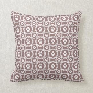 Paws-for-Décor Pillow (Mocha)