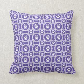 Paws-for-Décor Pillow (Violet)