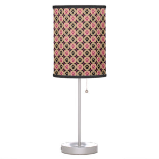 Paws-for-Décor Table Lamp (Berry)