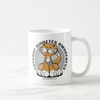 Paws for Diabetes Cat Coffee Mug
