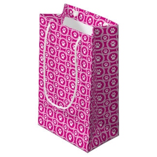 Paws-for-Giving Gift Bag (Magenta)