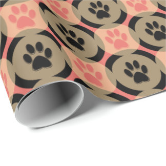 Paws-for-Giving Gift Wrap (Spice)