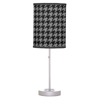 Paws-for-Houndstooth Lamp (Black)