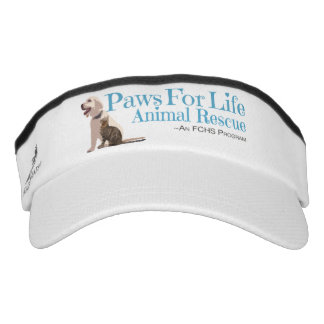Paws For Life Animal Rescue Visor