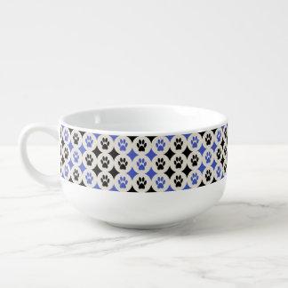 Paws-for-Soup Mug (Cobalt)