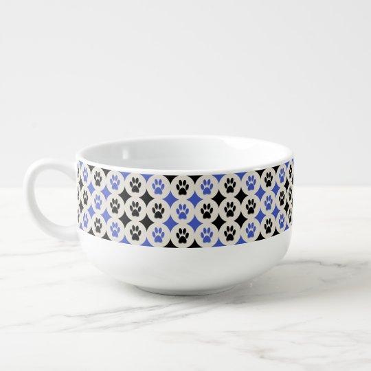 Paws-for-Soup Mug (Cobalt) Soup Mug