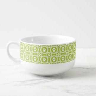 Paws-for-Soup Mug (Olive)