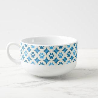 Paws-for-Soup Mug (Sky/Teal)