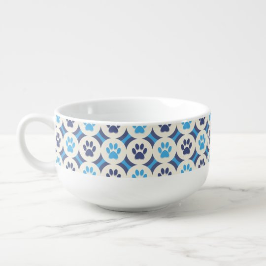 Paws-for-Soup Mug (Skye/Navy) Soup Mug
