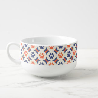 Paws-for-Soup Mug (Spice/Navy)