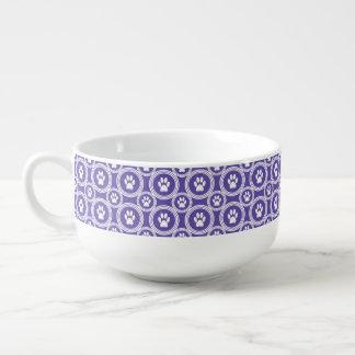 Paws-for-Soup Mug (Violet)