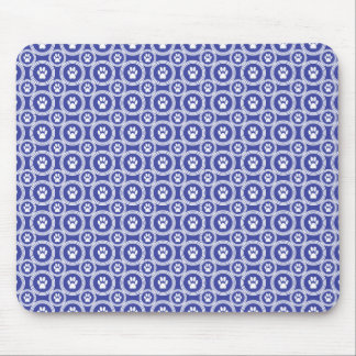 Paws-for-Style Mouse Pad (Indigo)