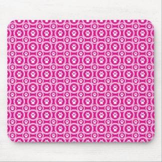 Paws-for-Style Mouse Pad (Magenta)