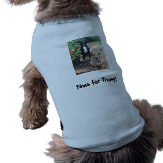 Paws for Trump! Doggie Tee