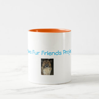 Paws Fur Friends Project Mug