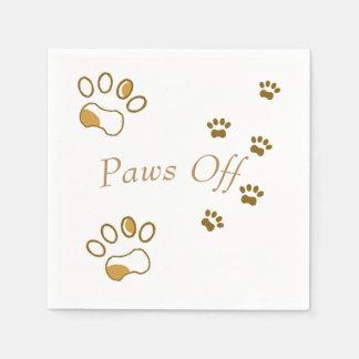 Paws Off Napkin Paper Napkin