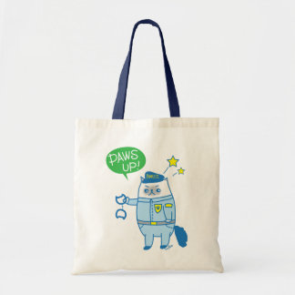 Paws up Goma Is Pawsome Pawlice Tote Bag