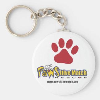 Pawsitive Match Keychain