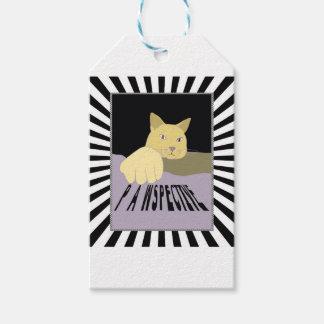 Pawspective Cat Art in Perspective Gift Tags