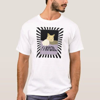 Pawspective Cat Art in Perspective T-Shirt