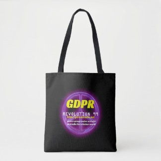 Paxspiration GDPR Basic Black Tote