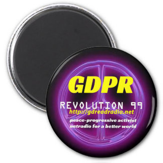 Paxspiration GDPR Round Magnet