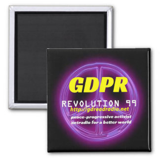 Paxspiration GDPR Square Magnet