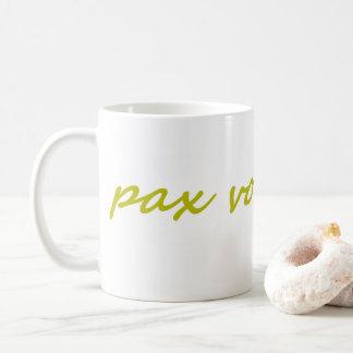Paxspiration PAX VOBISCUM Classic Mug
