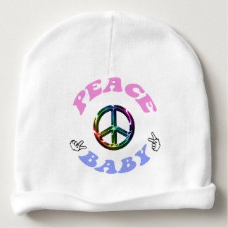 Paxspiration Peace Baby Beanie