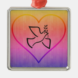 Paxspiration Peace Dove Ornament