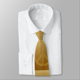 Paxspiration Peace Sign Necktie