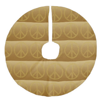 Paxspiration Peace Sign Tree Skirt