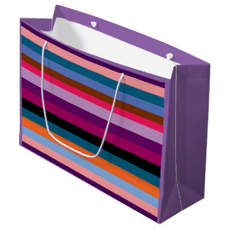 Paxspiration Peace Stripes Gift Bag
