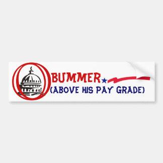 """Pay  Grade"" Bumper Sticker"
